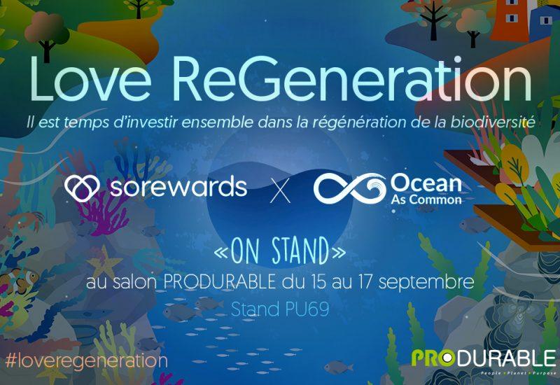 #loveregeneration Produrable 2021 Sorewards x OAC